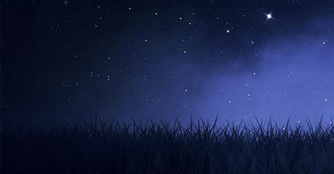 Noaptea se lasa in sat