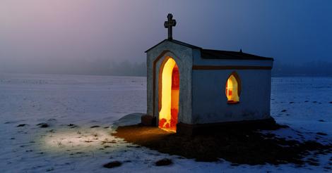 Unde-s crestinii care zideau altar