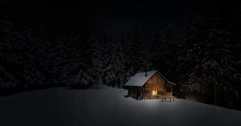 Incet se-asterne noaptea-nfrigurata